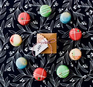 Holiday Macaron Box