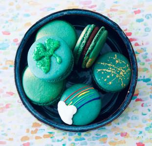 Bailey's Irish Cream Hand Painted Macarons