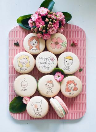 Custom Mother's Day Macarons