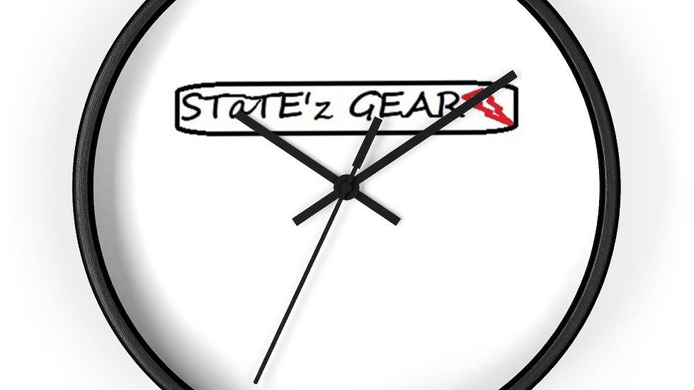 STaTE'z GEAR Wall clock