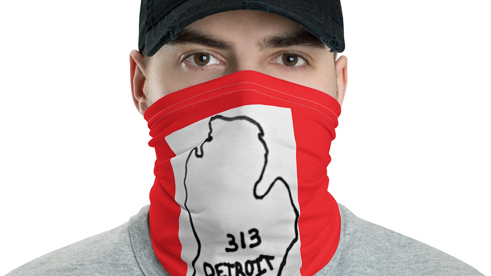 STaTE'z GEAR RED Neck Gaiter