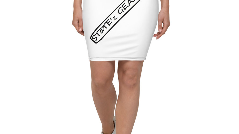 STaTE'z GEAR---Pencil Skirt