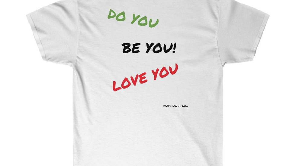 """BE YOU--line"" Unisex Ultra Cotton Tee"