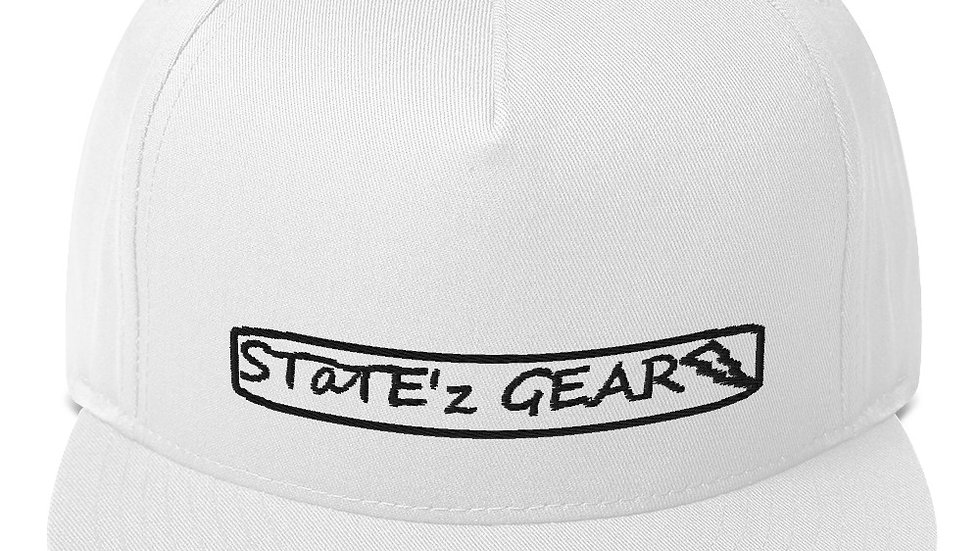 STaTE'z GEAR Flat Bill Cap