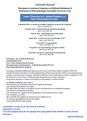 Centre Therapeutique de Savigny - Method