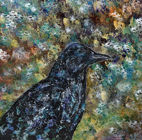 """""""The Observer"""" 12x12 (SOLD)"""