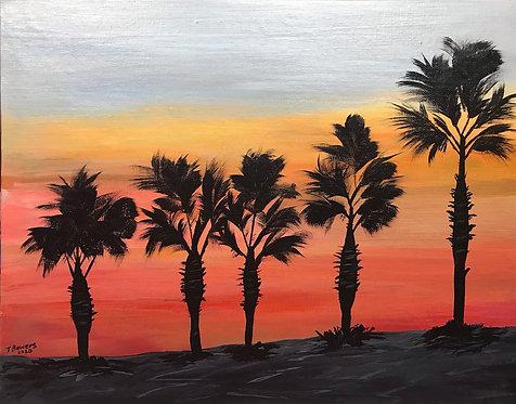 Mystic Palms - 11x14