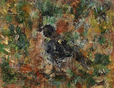 """""""Nature Talks"""" 11x14 (Sold)"""