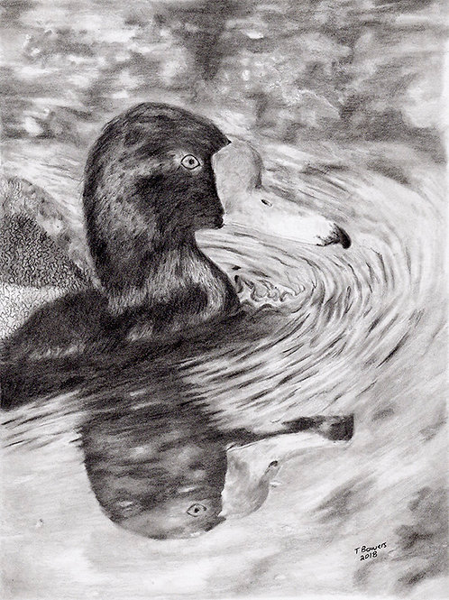 """Reflect With Me"" Graphite Framed"