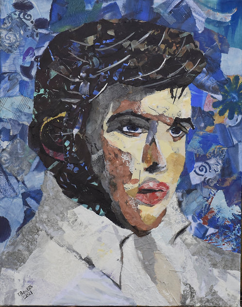 """Elvis Collage"" 11x14"