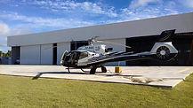 Manutenção de helicópteros.