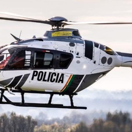 CIOPAER possui a terceira maior frota de helicópteros policiais do Brasil.