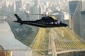 São Paulo é a maior frota de helicópteros civis do mundo.