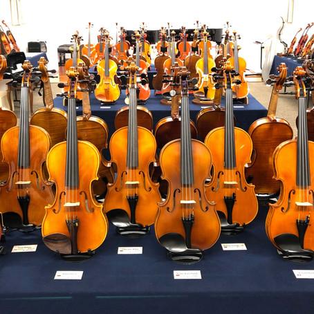 弦楽器展示会2020【ご来場ありがとうございました】