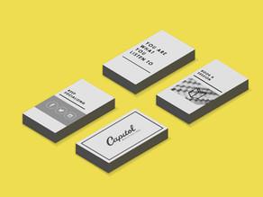 Dicas de design para cartões de visita
