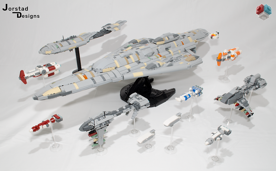 LEGO Star Wars Rebel Alliance MC80b Liberty Nebulon-B2 MC30c Nebulon-B UCS MOC fleet