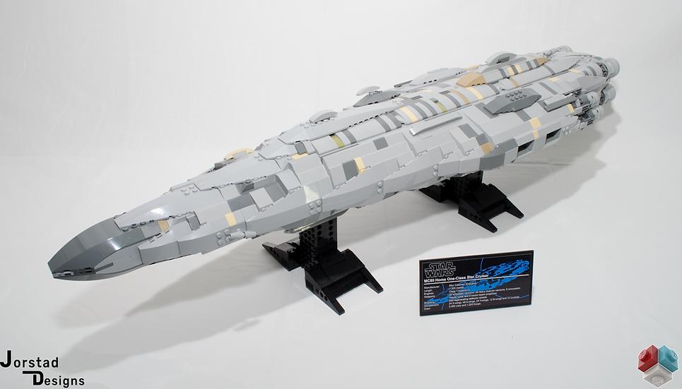 "Instructions: UCS MC80a ""Home One"" Star Cruiser"