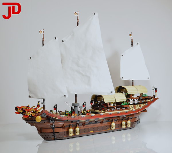 Custom Lego Desiny's Bounty