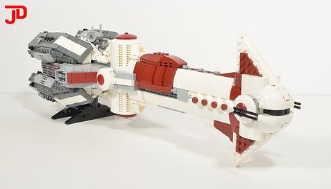 LEGO Star Wars Thranta-class corvette UCS MOC