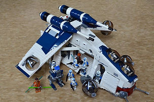 Lego Star Wars 501st Clone Attack Gunship