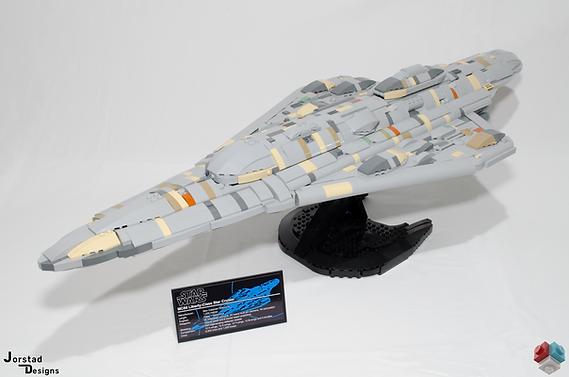 LEGO Star Wars MC80b Liberty-class star cruiser Rebel Alliance UCS MOC