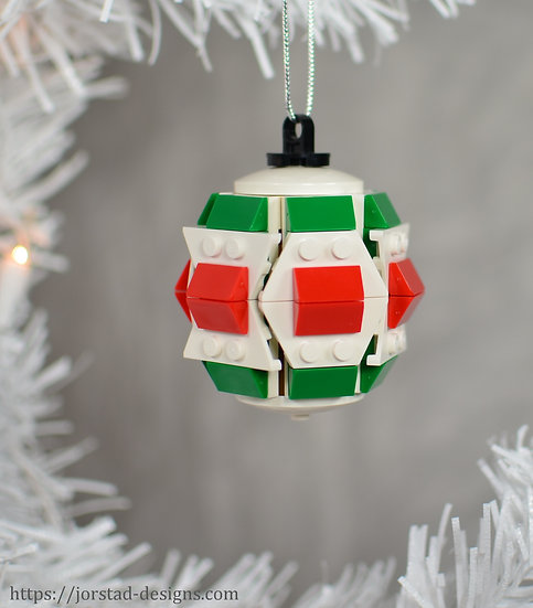 Barrel Ornament, 6-Sided