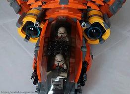 Lego Star Was Phantom-Class Airborne Assault Gunship