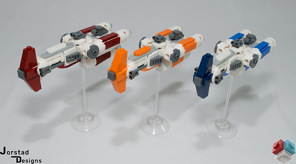 LEGO Star Wars Hammerhead Corvettes UCS MOC