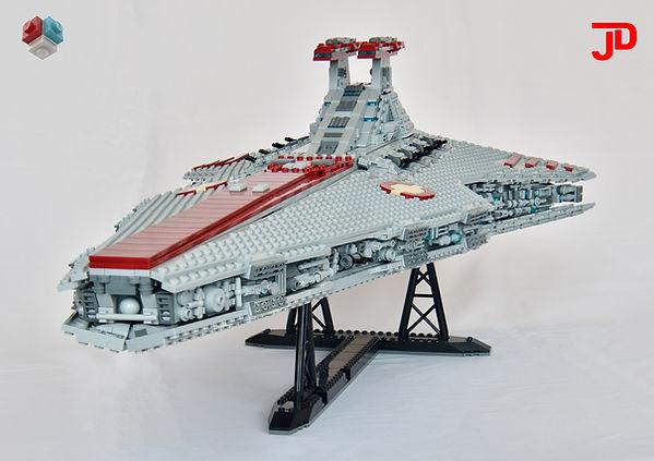 LEGO Star Wars Venator-class Star Destroyer UCS MOC