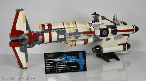 Instructions: UCS Hammerhead Corvette, Star Wars Rebels | Jorstad ...