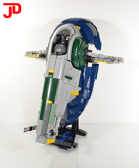 Instructions: UCS Jango's Slave I