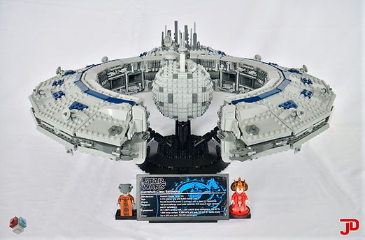 LEGO Star Wars Lucrehul-class battleship droid control ship MOC UCS