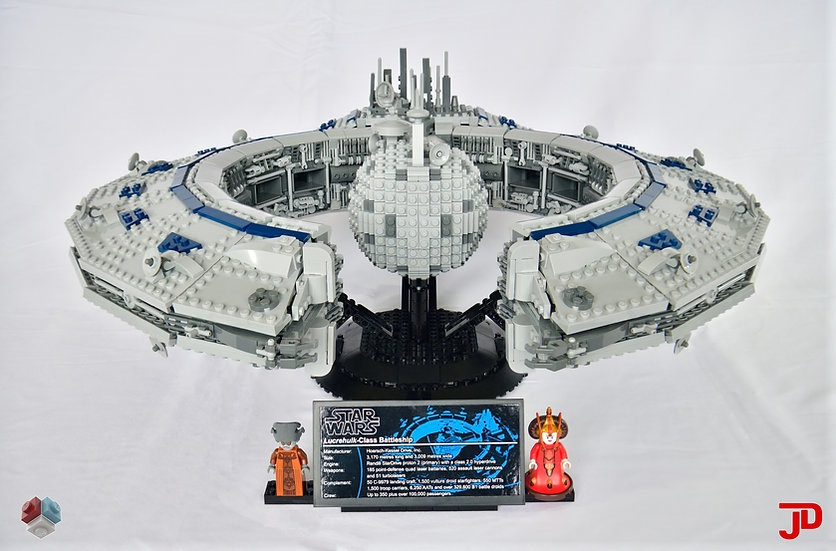 Instructions: UCS Lucrehulk-class Battleship 2.0