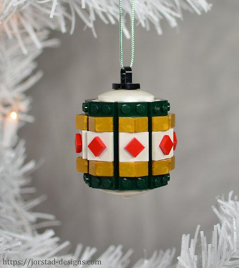Barrel Ornament, 8-Sided
