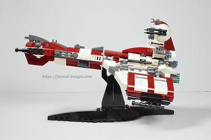 UCS Lego Star Wars Endar Spire Hammerhead Corvette
