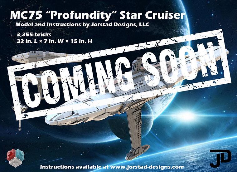 "Instructions: UCS MC75 ""Profundity"" Star Cruiser"