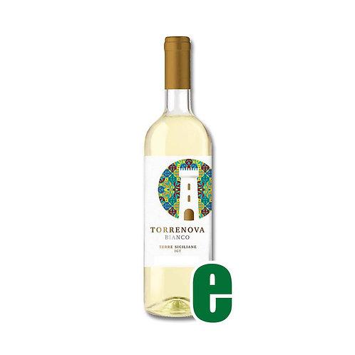 TORRENOVA BIANCO I.G.T. CL75 CANTINE SETTESOLI  GRADAZIONE ALCOLICA 12,5%