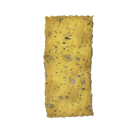 Crackers con curcuma e Cereali