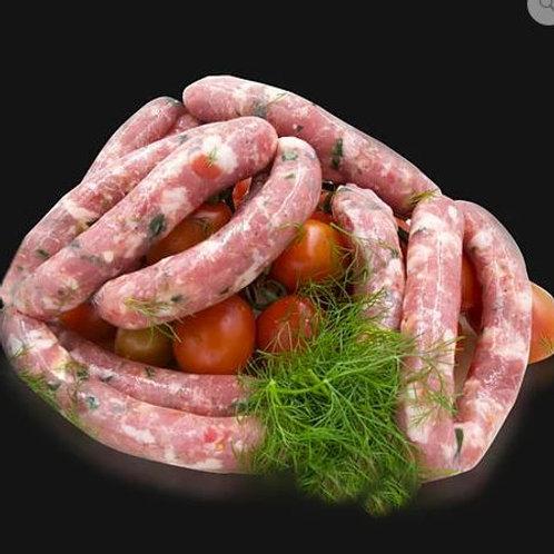 Salsiccia di suino Cunzata 500 gr