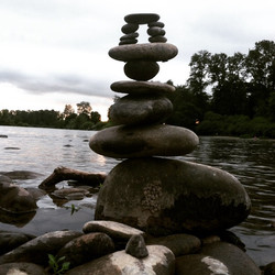 I spoke to the rocks _Seeking personal clarity, focus and power in my life, I was told to face my fe