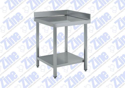 Mesas de ángulo medidas 600 x 600 x 850