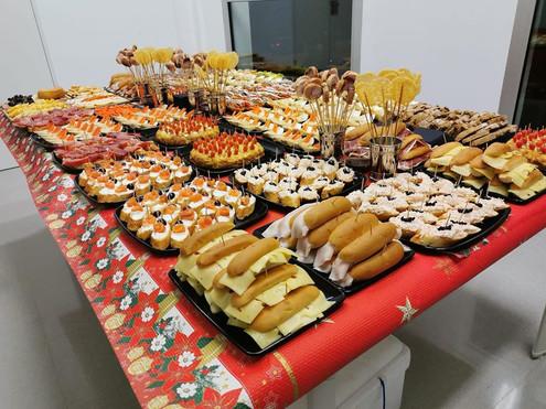 Empresa de servicios de catering en mall