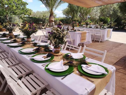 Decoración para bodas Ktering y eventos