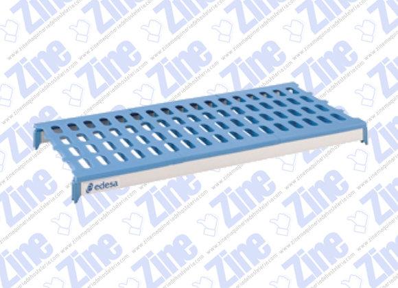 Estanterías de aluminio y polietileno Estantes medidas 1100 x 400