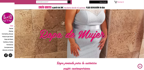 Tienda online de ropa de mujer