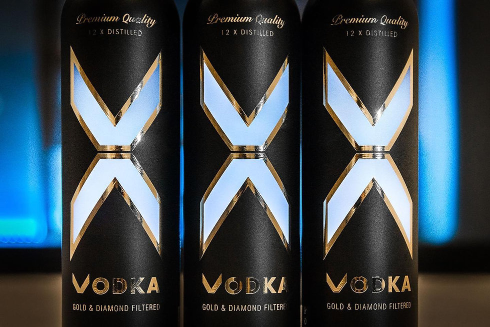 X Vodka Austria Madrid