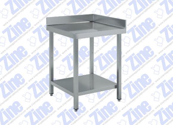 Mesas de ángulo medidas 700 x 700 x 850