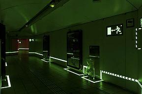 Sistema de señalización luminiscente