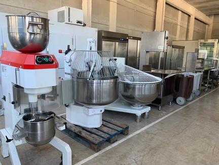 Máquinas para pizzería y panaderías