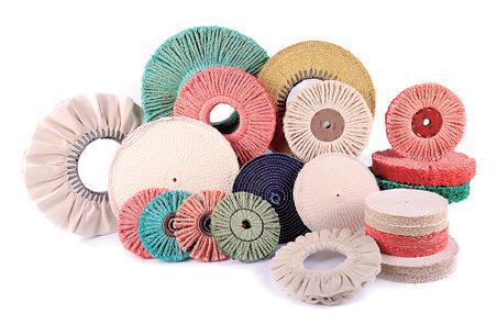 discos de cuerda y algodon